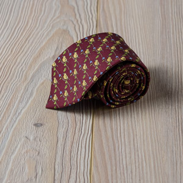 Corbata Fio de Martie Bandadas de pájaros